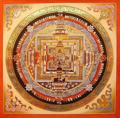 Poster - #colourful buddhist mandala #(picture poster #print buddha art religion),  View more on the LINK: http://www.zeppy.io/product/gb/2/221936802302/