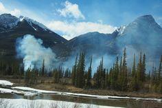 Canadian Rockies. #Jasper #Canada #viarail