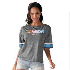NASCAR Touch by Alyssa Milano Women's Championship Top T-Shirt - Black
