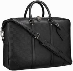 db0eadce9bc6 Louis Vuitton Damier Infini Porte-Documents Voyage GM Louis Vuitton  Designer, Big Bags,