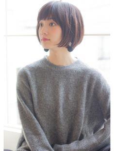 Un ami【HIRA】 大人可愛い小顔ショートボブ サイド