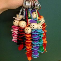 They are done, our KEYCHAINS I think they have become really great . - # genuine # have been - - Fertig sind sie, unsere SCHLÜSSELANHÄNGER Ich find sie sind echt toll geworden… – They are done, our KEYCHAINS I think they are really great … – Kids Crafts, Summer Crafts, Felt Crafts, Fabric Crafts, Diy And Crafts, Craft Projects, Arts And Crafts, Tape Crafts, Button Art