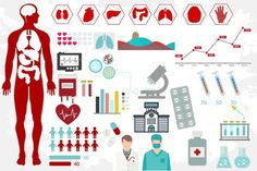Medical infographics. Business Infographic