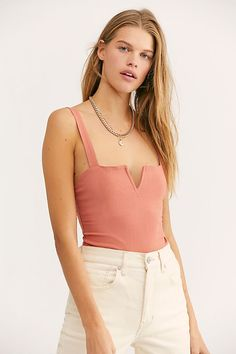 Pippa V-Wire Bodysuit - Free People Bodysuits - Sleeveless Bodysuit - Fitted Bodysuit Turtleneck Style, Free People Bodysuit, Turtleneck Bodysuit, Bikini Poses, Body Suit Outfits, New Wardrobe, Lace Tops, Signature Style, My Style
