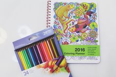 Blogger Cyril reviewed the 2016 Coloring Planner! We can't wait to see what people color in 2016!
