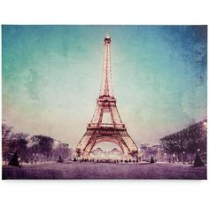 Graham & Brown Canvas Paris At Dusk Wall Art (€57) ❤ liked on Polyvore featuring home, home decor, wall art, no color, eiffel tower home decor, graham & brown, parisian wall art, eiffel tower canvas wall art and eiffel tower wall art