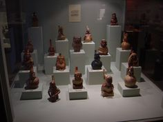 ancient peruvian pottery | selection of Pre-Inca pottery in the museum. We had a chronological ... Ancient Peruvian, Peruvian Art, Some Image, Nepal, Mexico, Museum, Pottery, Ceramica, Pottery Marks