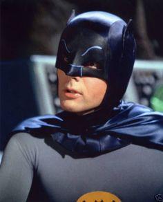 Adam West as 'Batman' in the 1960s