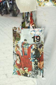 キハラリエコ COMME des GARCONS #print #armcandy