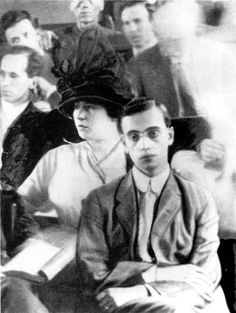 Leo Frank in court.