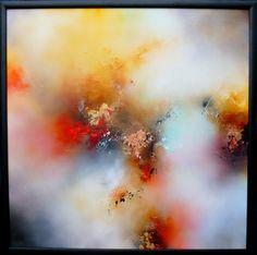 "Saatchi Online Artist: Simon Kenny; Mixed Media, 2012, Painting ""Solar"""