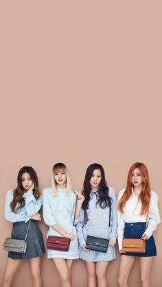 Black Pink rock vintage casual fashion for '1st Look