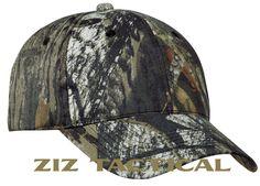 NEW Mossy Oak New Break Up Camouflage Adjustable Velcro Camo Hat Baseball Cap  #MossyOak