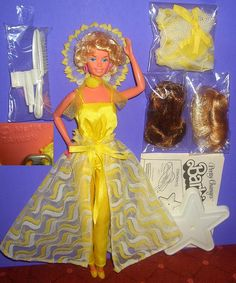 Pretty Changes barbie 1978 - I don't remember the wigs, but I would have been 4 when I got her.