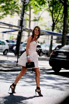 Dior dream. AdR in Paris. #AnnaDelloRusso