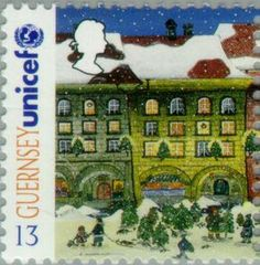 ◇Guernsey  1995    Christmas Trees for Sale in Bern
