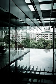 Carrying the perception of the exterior into the interior (Z58, Shanghai, China by Kengo Kuma)