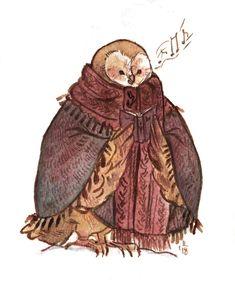 Caroling Owl, an art print by Lilla Ivanich Character Illustration, Illustration Art, Halloween Illustration, Animal Drawings, Art Drawings, Owl Art, Art Blog, Cute Art, Art Inspo