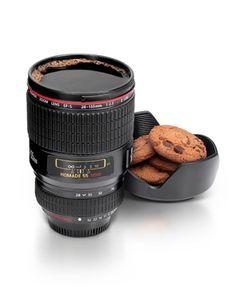 Für Kamera-Liebhaber und Heißgetränk-Fanatiker! #Ostern #Geschenk #Kamera #Objektiv #Becher