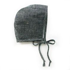 Briar Basics Charcoal Bonnet // by Briar Handmade
