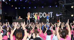スポーツと音楽の融合を体験できるスペシャルイベント「JUST DO IT. 夏フェス」をお台場特設会場にて開催。