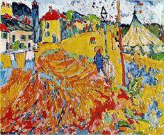 expressionisme Fauvisme maurice de vlaminck - 1905-1910