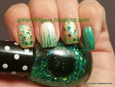 Glittery Fingers & Sparkling Toes: St. Patrick's Day Mani
