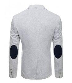 Pánske saká - Kokain Emporio Armani, Pullover, Sweatshirts, Casual Blazer, Sweaters, Single Breasted, The Outsiders, Grey, Products