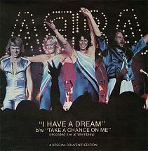 45cat - ABBA - I Have A Dream / Take A Chance On Me - Epic - UK - S EPC 8088