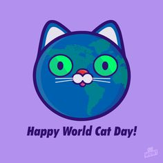 Happy World Cat Day! Be sure to hug your cat today (even if she/he don't want)