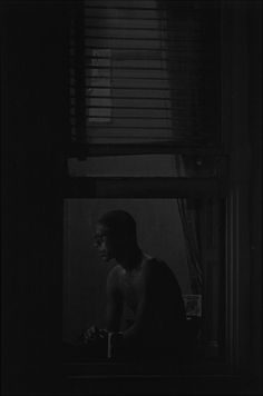 Roy DeCarava, Man in Window, 1982 (silver-gelatin print) Photography Tags, Fine Art Photography, Street Photography, Smart Museum Of Art, Roy Decarava, Fosse Commune, Jazz Artists, Great Photographers, Art Institute Of Chicago