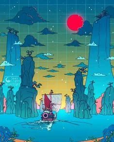 Crédits: seerlight Wallpaper Animes, Anime Wallpaper Live, Anime Scenery Wallpaper, Animes Wallpapers, Vaporwave Anime, Vaporwave Art, One Piece Anime, Vaporwave Wallpaper, One Piece Pictures