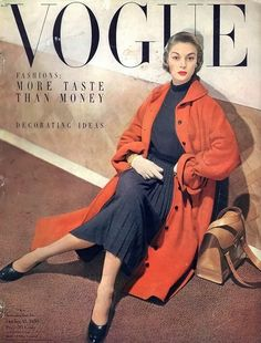 Jean Patchett for Vogue, October 1950
