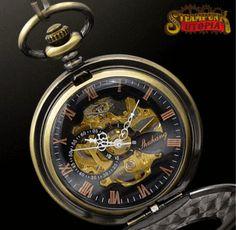 """The Mechanic"" Pocket Watch"