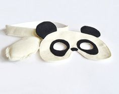 Panda Mask and Tail for Children, Kids Halloween Costume, Eco Friendly Dress up Toy to Play Pretend for Girls Boys and Toddlers Panda Costumes, Fox Costume, Halloween Masks, Halloween Costumes For Kids, Children Costumes, Kids Carnival, Classy Work Outfits, Fox Mask, Panda Love