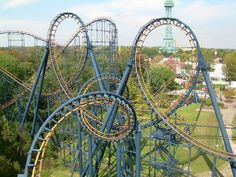 Amazing roller coasters!