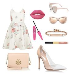 """""""Unbenannt #252"""" by lailabalic ❤ liked on Polyvore featuring New Look, Tory Burch, STELLA McCARTNEY, Lime Crime, Gianvito Rossi, Hoorsenbuhs and Chanel"""