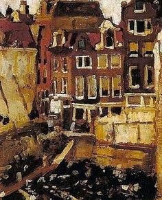 The Leveled Building Site by George Hendrik Breitner (1857-1923) Dutch Painter ~Repinned via Antonie van Gelder http://www.artistsandart.org/2010/04/george-hendrik-breitner-1857-1923-dutch.html