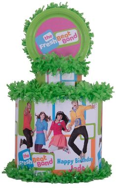 World of Pinatas - The Fresh Beat Band Personalized Pinata, $39.99 (http://www.worldofpinatas.com/the-fresh-beat-band-personalized-pinata/)