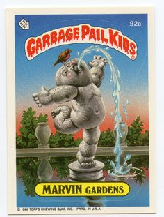 1000 Images About Garbage Pail Kids On Pinterest