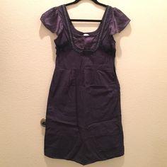 April, May Navy Blue Dress size XS Anthropolgie April, May Navy Blue Dress size XS Anthropolgie.  Barely worn. Silk sleeves Anthropologie Dresses