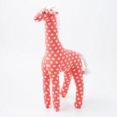 Giraffe multi dotted cuddle - cute site for kiddo stuff