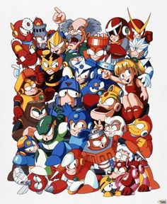 Megaman and friends!