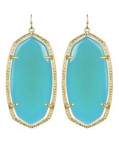 Danielle Earrings in Aqua - Kendra Scott Jewelry