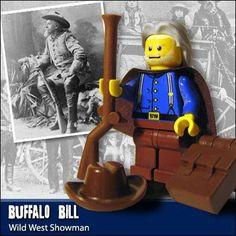 Lego Famous People   - Buffalo Bill