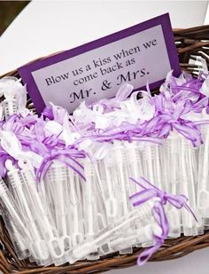 50 Fab Favours For Your Wedding Day! (Blow Us A Kiss When We Come Back As  Mr U0026 Mrs)