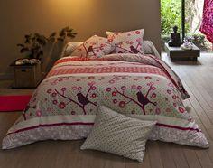 linge de lit esprit jardin japonais   becquet Duvet Bedding, Decoration, Comforters, Sweet Home, Blanket, Furniture, Home Decor, Presents, France