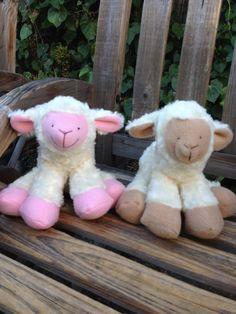 Plus stuffed Lamb by MichellesZoo on Etsy, $28.00