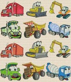 Image result for heavy equipment machinery cartoon