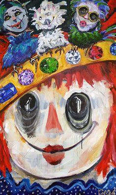 """Acrylic on canvas/Acrylique sur toile - 60""""x36"""" / 152.5 x 91.5 cm Acrylic Paintings, Queen, Art, Art Background, Show Queen, Kunst, Gcse Art, Art Education Resources, Artworks"""